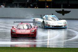#99 GAINSCO/Bob Stallings Racing Corvette DP: Jon Fogarty, Alex Gurney en #10 SunTrust Racing Corvet