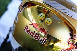 The, kask, Sebastian Vettel, Red Bull Racing gridde