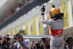 3. sıra Lewis Hamilton, McLaren Mercedes