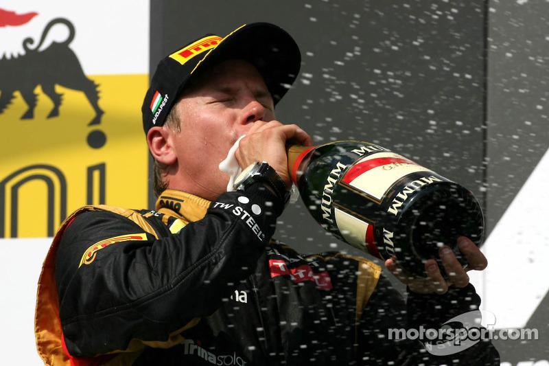 Raikkonen acabaría el mundial 3º, con 207 puntos