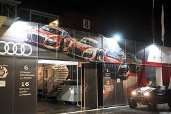Audi paddock