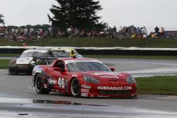 #46 Michael Baughman Racing Corvette Hub Garage Nynamat, Mobil 1: Michael Baughman, James Davison