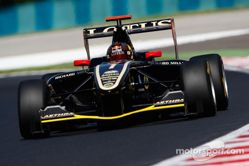 Equipo campeón de la GP3 en 2012: Lotus ART