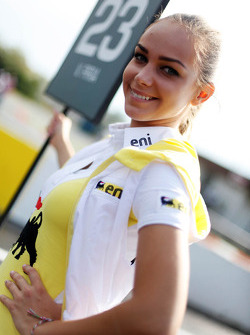 Grid girl of Vicky Piria