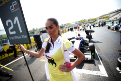 Grid girl of  Patric Niederhauser