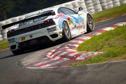 #27 LMP Motorsport Ferrari F430 GTC: Yutaka Yamagishi, Takuto Iguchi