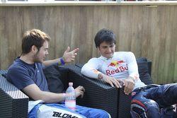 Tom Blomqvist, Carlos Sainz Jr