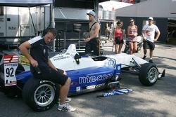 Tom Blomqvist's car