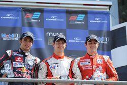 Carlos Sainz Jr, Felix Serralles, Jack Harvey