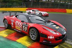 #59 Vita4One Team Italy Ferrari 458 Italia: Alessandro Bonetti, Andrea Ceccato, Michael Lyons, Filip