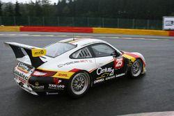 #25 First Motosport Porsche 997 GT3 Cup S: Steve Vanbellingen, Bert Redant, Armand Fumal, Johan Vanloo