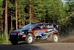 Sebastian Lindholm and Timo Hantunen, Ford Fiesta RS WRC