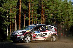 Jari Ketomaa en Mika Stenberg, Ford Fiesta RS WRC