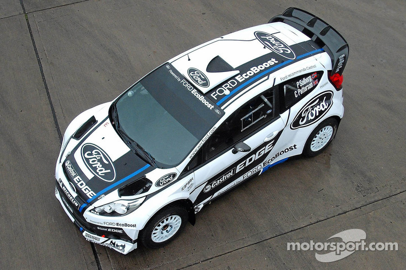 Ford World Rally Team's Fiesta RS World Rally Car, speciale kleurstelling Rally Finland