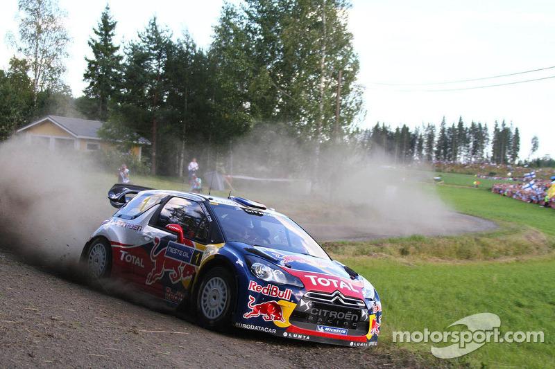 5. Rally de Finlandia 2012: 122,89 km/h