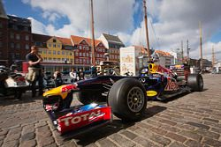 David Coulthard in de Red Bull F1