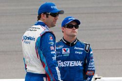 Ricky Stenhouse Jr. and Elliott Sadler