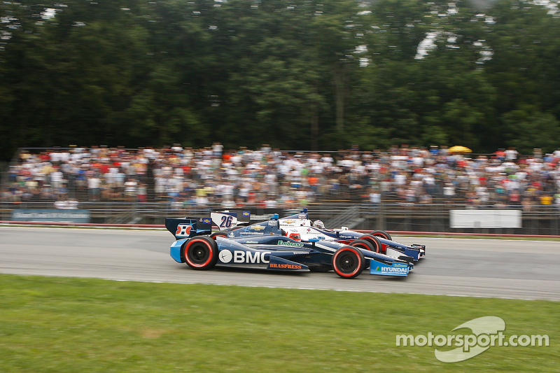 Rubens Barrichello, KV Racing Technology Chevrolet Marco Andretti, Andretti Autosport Chevrolet