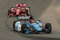 Simon Pagenaud, Schmidt-Hamilton Motorsports, Scott Dixon, Target Chip Ganassi Honda
