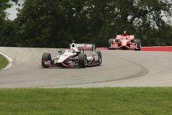 Will Power, Team Penske Chevrolet, Scott Dixon, Target Chip Ganassi Honda
