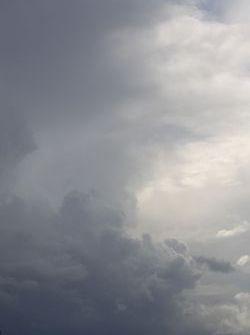 Skies over Snetterton