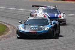 #60 Von Ryan Racing McLaren MP4-12C GT3: Julien Draper, Matt Draper, Stephen Jelley, Stef Dusseldorp