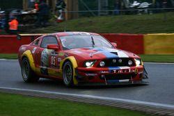 #85 Racing Adventures Ford Mustang: Raphaël van der Straten, Nicolas de Crem, Jose Close, Wolfgang Haugg