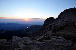 Zonsopgang over Pikes Peak