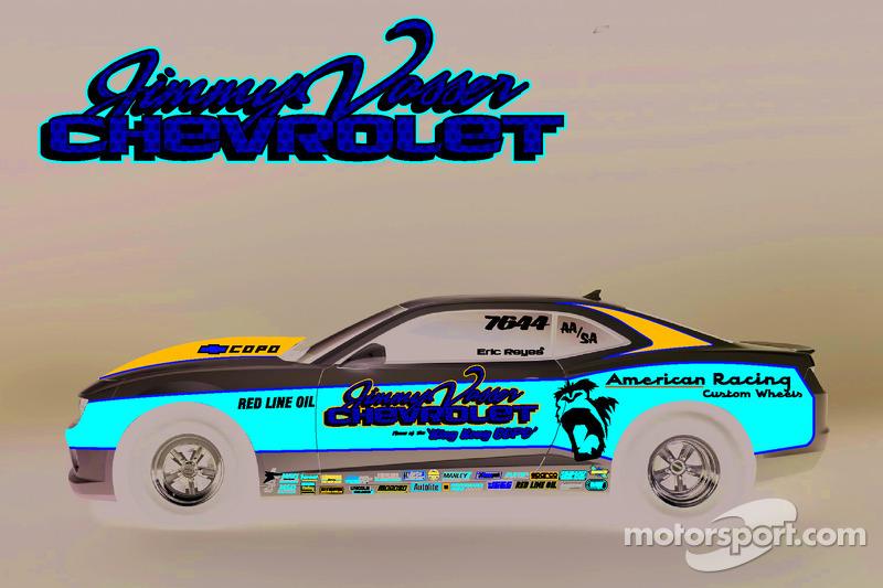 Jimmy Vasser Chevrolet gaat met COPO Camaro deelnemen in Factory Stock Showdown,U.S. Nationals
