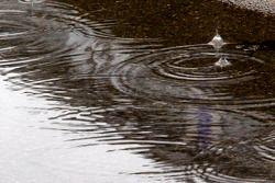 Rain hits Watkins Glen