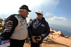 Randy Schranz en Rhys Millen