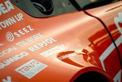 #66 A Speed Aston Martin V8 Vantage car detail