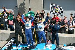Race winnaars Scott Pruett en Memo Rojas