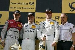 Edoardo Mortara, Audi Sport Team Rosberg, Audi A5 DTM; Bruno Spengler, BMW Team Schnitzer, BMW M3 DT