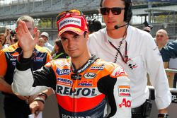 Race winnaar Dani Pedrosa, Repsol Honda Team