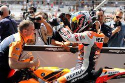 Ganador d ela carrera Dani Pedrosa, Repsol Honda Team