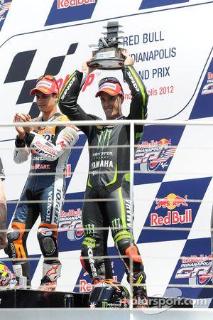 Podium : le troisième, Andrea Dovizioso, Yamaha Tech 3