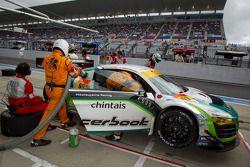 #99 Hitotsuyama Racing Audi R8 LMS: Michael Kim, Hideto Yasuoka, Yoshio Tsuzuki