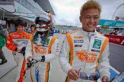 GT300 polepositie voor Hiroki Yoshida, Kazuki Hoshino en Hiroki Yoshimoto