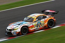 #4 GSR&Studie with Team Ukyo BMW Z4 GT3: Taku Bamba, Masahiro Sasaki