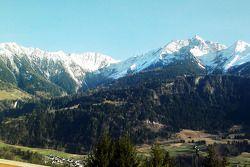 Foto van Peter Sauber van bergen in Zwitserland