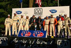 Class winners podium