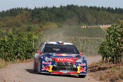 Sébastien Loeb et Daniel Elena, Citroën DS3 WRC, Citroën Total World Rally Team