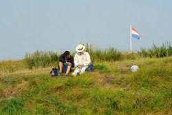 Toeschouwers op Circuit Zandvoort