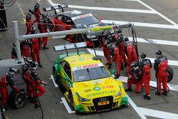 Mike Rockenfeller, Audi Sport Team Phoenix Racing Audi A5 DTM, Edoardo Mortara, Audi Sport Team Rosb