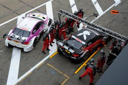 Edoardo Mortara, Audi Sport Team Rosberg Audi A5, Andy Priaulx, BMW Team RBM BMW M3 DTM