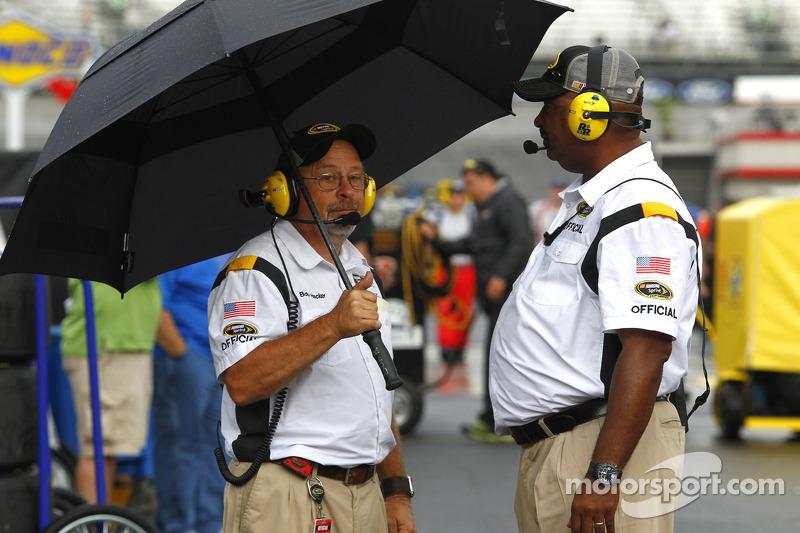NASCAR officials