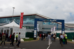 WEC Paddock entrance