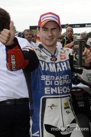 Pole position pour Jorge Lorenzo, Yamaha Factory Racing