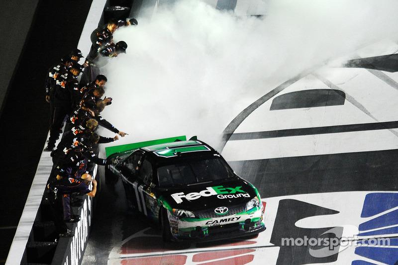 2012, Bristol 2: Denny Hamlin (Gibbs-Toyota)